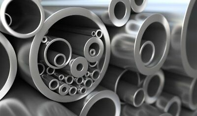 Mild Steel Precision Round Tube Pipe Many Sizes Lengths Metal Bar Rod Strip 1 • 11.99£