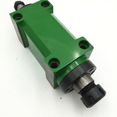 $219 • Buy ER25 Spindle Unit 2HP 3000rpm Power Head φ80mm For CNC Drilling Milling Machine