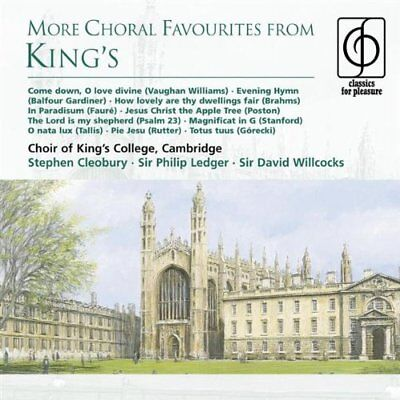 £6.30 • Buy Cambridge Kings College Choir - More Choral Favourites From Kings [CD]