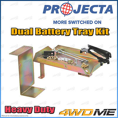 AU190 • Buy Fits Toyota Hilux N80 GUN126 REVO PROJECTA Dual Battery Tray Auxiliary Kit