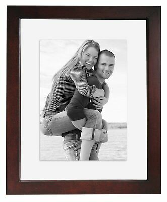 AU17.52 • Buy MCS 8x10 Wood Floating Picture Frame Walnut (Same Shipping Any Qty)