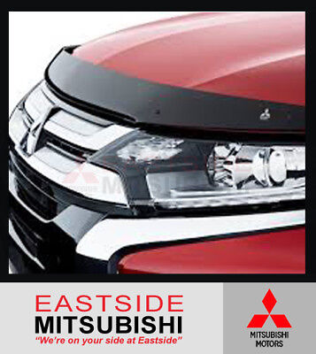 AU105.08 • Buy Genuine Mitsubishi Outlander Zj Zk Zl Tinted Bonnet Protector 2013 On Mz350204