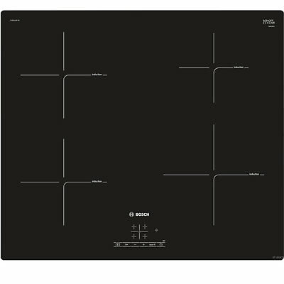 *INDUCTION*   Bosch PUE611BF1B Induction Ceramic Hob Black HOB ONLY • 319£