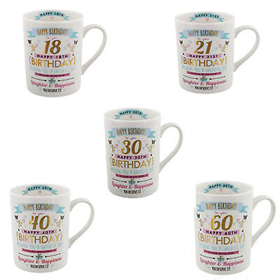 £5.99 • Buy  18th, 21st, 30th 40th,50th, 60th,  80th   Birthday Mug Gift For Her