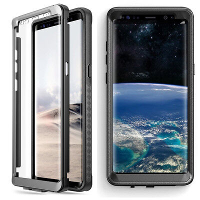 $ CDN14.95 • Buy Samsung Galaxy Note 8 Case Poetic Shockproof Cover With Screen Protector Black