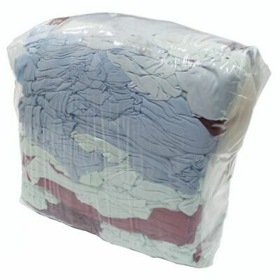 £14.82 • Buy Rags-in-a-Bag' - Cleaning Cloths, Various Types Of Material 10kg