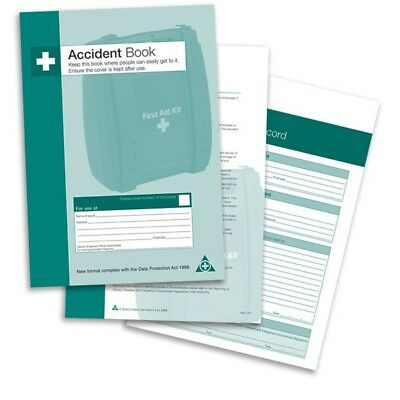 £7.55 • Buy First Aid Accident Report Book