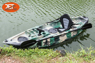 AU499 • Buy 2.7M Jetocean Single Sit On Top Fishing KAYAK With Paddle And Seat Melbourne