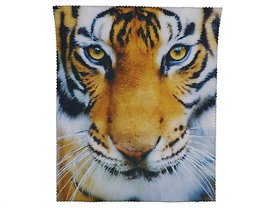 Go Glasses Cleaning Microfiber Cloth Tiger Spectacle Lens Microfibre Cleaner • 2.69£