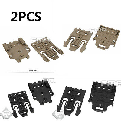 $ CDN25.56 • Buy 2pcs FMA Safariland Tactical QLS Quick Locking System Kit Holster TB1042-BK/DE