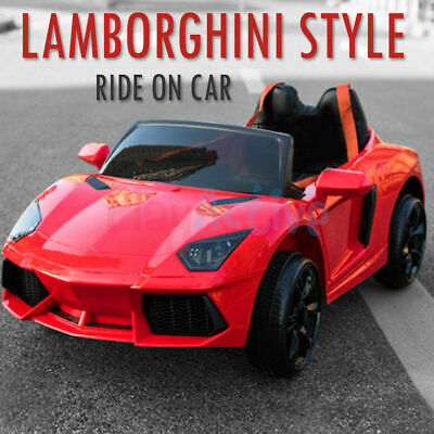 £119.99 • Buy Kids Ride On 12v Electric Lamborghini Style Battery Remote Control 2.4g Toy Car