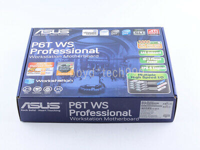 $ CDN390.07 • Buy NEW ASUS P6T WS Professional LGA 1366/Socket B Intel Motherboard ATX