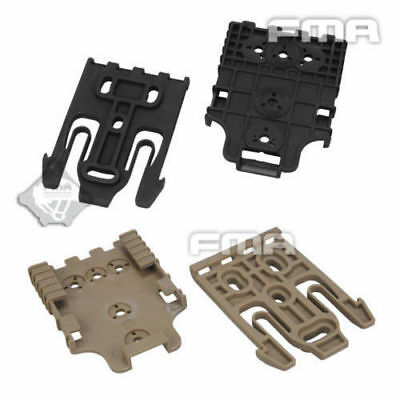 $ CDN10.82 • Buy FMA Tactical Safariland Quick Locking System Kit Holster QLS TB1042-BK DE