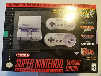 $ CDN211.54 • Buy SNES Classic Edition Console - Brand New - 2017