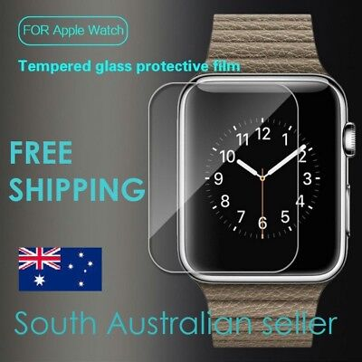 AU3.99 • Buy Tempered Glass Screen Protector Film Suitable For Apple Watch - SA & AU Seller