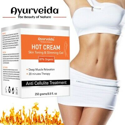 £13.99 • Buy Anti Cellulite Hot Cream Slimming-Muscle Relaxation-Fat Burning Loss Weight 250g