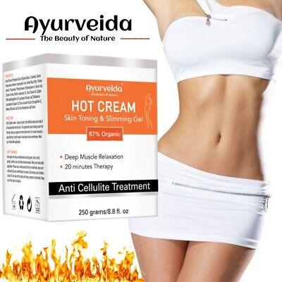 Anti Cellulite Hot Cream Slimming-Muscle Relaxation Oil- Fat Burning Loss Weight • 13.99£