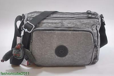 $64.98 • Buy New With Tag Kipling RETH Shoulder Cross Body Bag HB3814 - Silver Glimmer