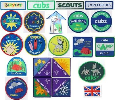 £1.98 • Buy Scout Cub Beavers Collectable Patch Badges Patches Badge Club Beavers Cubs Guide