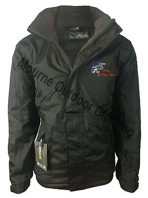 £44.95 • Buy Scania V8 Regatta Fleece Lined Waterproof Jacket With Back Embroidered Logo