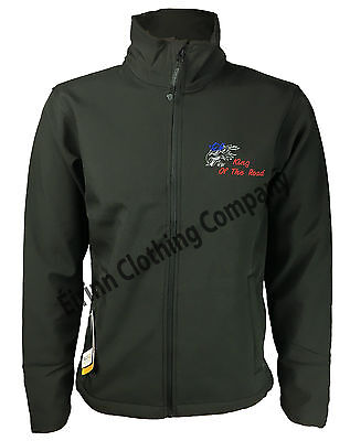 £44.95 • Buy Scania V8 Regatta Full Zip Soft Shell Jacket With Back Embroidered Logo