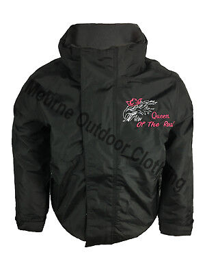 £34.95 • Buy Scania V8 Kids Girls Regatta Fleece Lined Waterproof Jacket Embroidered Logo