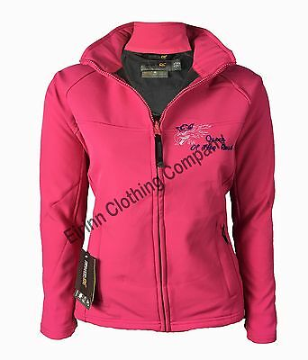 £44.95 • Buy Scania V8 Womens Ladies Regatta Full Zip Soft Shell Jacket With Embroidered Logo