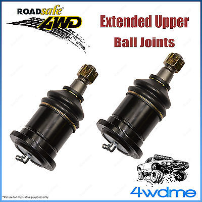 AU157.32 • Buy Mitsubishi Pajero NM NP NS NT 4WD Roadsafe Extended Upper Ball Joints