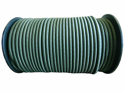 £4.80 • Buy Olive Green - Elastic Bungee Rope Shock Cord Basha Survival Army Military 6-10mm