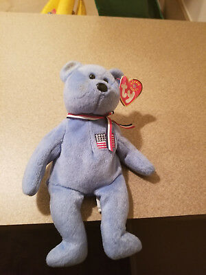 $199 • Buy Ty Beanie Baby America 2001 Retired Bear