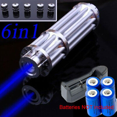 AU130.06 • Buy Focusable 1W 1000mW 450nm Blue Laser Module Flashlight Torch Visible Beam Lazer