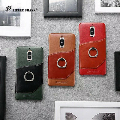AU20.99 • Buy  Luxury Slim PU Leather Back Case With Key Ring Stand Cover For IPhone X Huawei