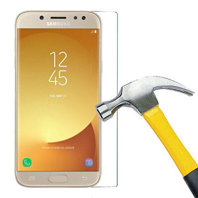 AU6.99 • Buy Tempered Glass Screen Protector For Samsung Galaxy J3 Pro / J5 Pro / J7 Pro