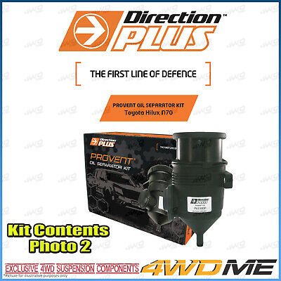 AU304 • Buy Toyota Hilux KUN26 N70 3.0L DIRECTION PLUS PROVENT Oil Separator  COMPLETE KIT