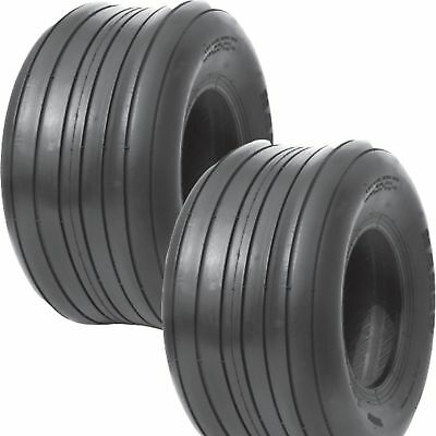 £54.38 • Buy 2 New 16X6.50-8 4 Ply Rib Tractor  Lawn Mower Tires FREE SHIPPING 16 6.50 8