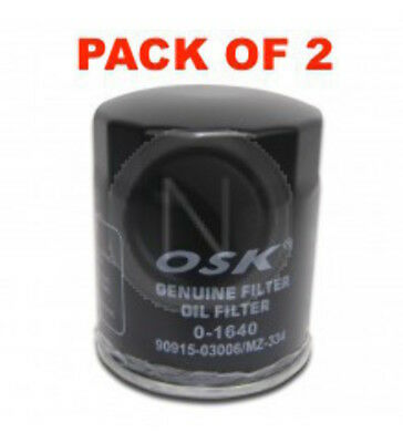 AU42.50 • Buy Osaka Oil Filter Oz334 Interchangeable With Ryco Z334 (box Of 2)