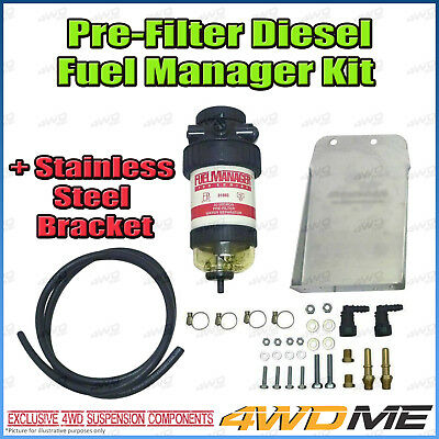 AU390 • Buy Toyota Hilux KUN26 N70 3.0L Diesel 4WDME Fuel Manager Diesel Pre Filter KIT