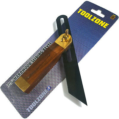 Hardwood Sliding Bevel. 7.5  Adjustable Sliding Bevel Gauge Angle Finding Finder • 6.99£