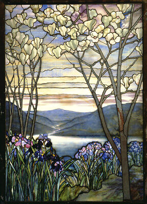 $34.99 • Buy Magnolia And Iris  By Louis Comfort Tiffany  Giclee Canvas Print Repro