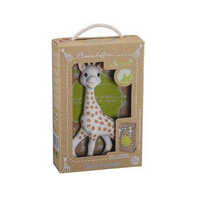 £21.80 • Buy Vulli Sophie The Giraffe So Pure Natural Rubber Baby Teether Teething Toy