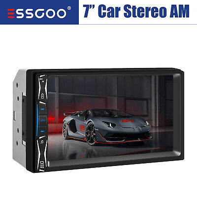 AU44.98 • Buy 7  HD Car Stereo Bluetooth Audio MP5 Player Radio FM//USB/AUX Head Unit 2 DIN AU
