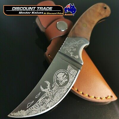 AU39.99 • Buy Hunting Survival Camping Military Skinning  Blade Knife Full Tang Small