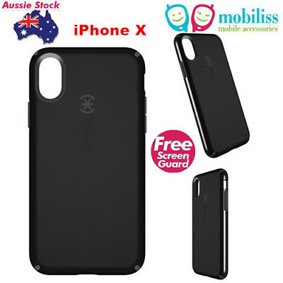 AU39.95 • Buy Genuine Speck CandyShell Protective Case For  IPhone X / XS 5.8 '' Black +TP