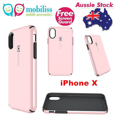 AU49.95 • Buy Genuine Speck CandyShell Protective Case For Apple IPhone X /Xs Quartz Pink + SP