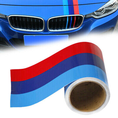 $9.58 • Buy 5FT M-Colored Car Door Body Stripe Hook Decal Sticker Decoration For BMW IN USA