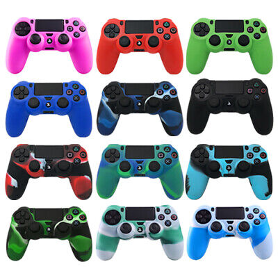 PS4 Silicone Controller Case Camouflage Skin Cover For PlayStation 4 /Slim/ Pro • 4.99£