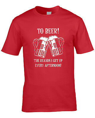 £9.99 • Buy Beer Drinking Mens T-Shirt Pub Culture Stag Do Bar Funny Humour Drink Alcohol