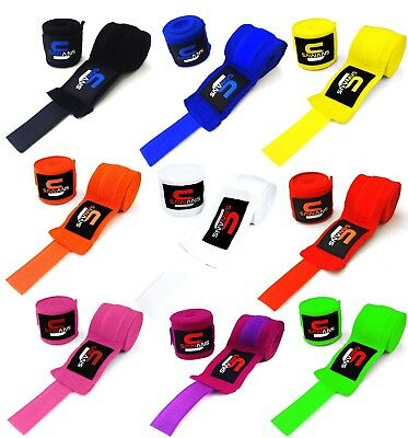 $ CDN5.13 • Buy Power Hand Wraps Inner Gloves Bandages MMA Boxing Muay Thai Mexican Stretch