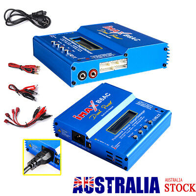 AU47.48 • Buy IMAX B6AC Dual Power 6A 80W LiPo NiCd NiMH RC Battery Balance Charger Discharger