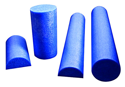 AU30.88 • Buy 6  X 36  Half Round CanDo PE Blue Foam Roller CrossFit Yoga Fitness Equipment